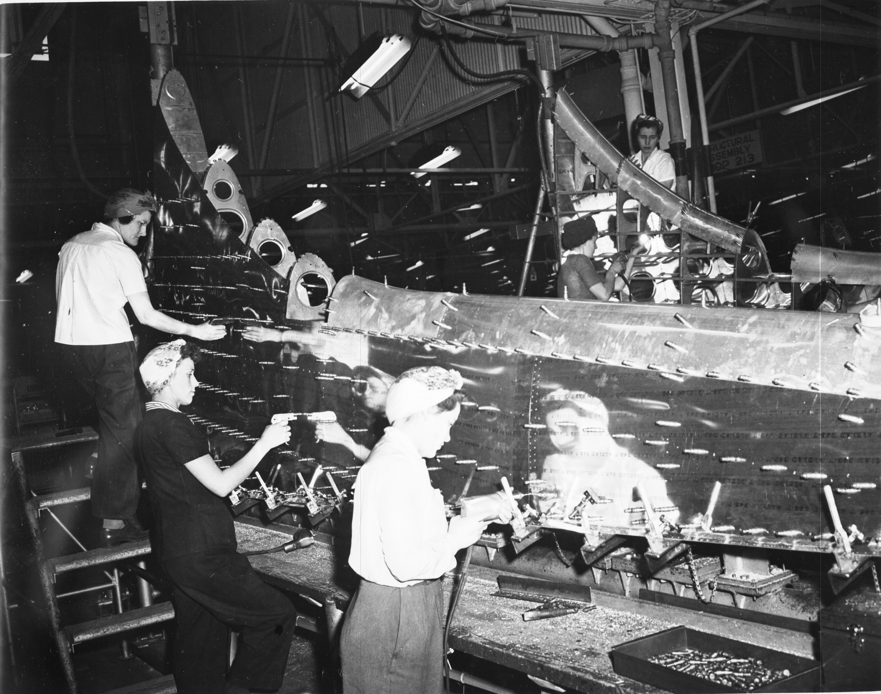 la mujer en la segunda guerra mundial: